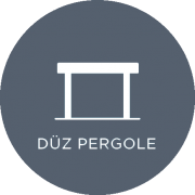 Çeşme Tente Pergola, Düz Pergole